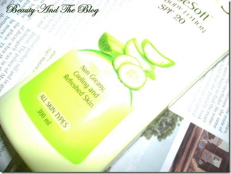 Lotus AloeSoft Daily Body Lotion Review