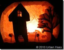 Saum's castle pumpkin