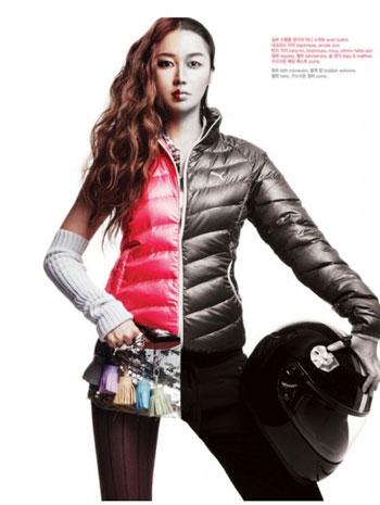 Yoon Eun Hye เป็นแบบให้กับ PUMA