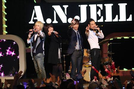 A.N.JELL จัดคอนเสิร์ตครั้งสุดท้าย