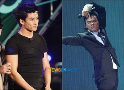 Taec Yeon เคยประจบ Park Jin Young