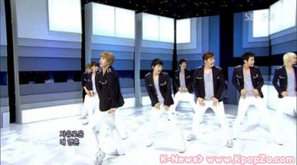 Super Junior กับ 'No Other' ใน Inkigayo