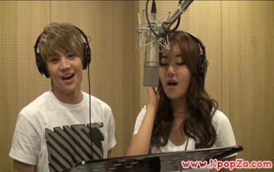 Gayoon (4minute) & Yoseob (BEAST) ร้องโคฟเวอร์ร่วมกัน