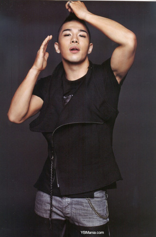 Taeyang ในนิตยสาร GQ Magazine เกาหลี