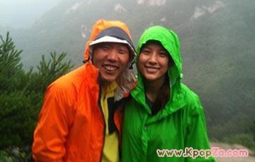 Kim Jae Dong และ Hyori ไปปีนเขาด้วยกัน