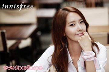 YoonA (SNSD) กับมิวสิควีดีโอในโฆษณา 'Innisfree Day'