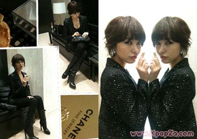 Yoon Eun Hye ไปงานปาร์ตี้ของแบรนด์ชาแนล