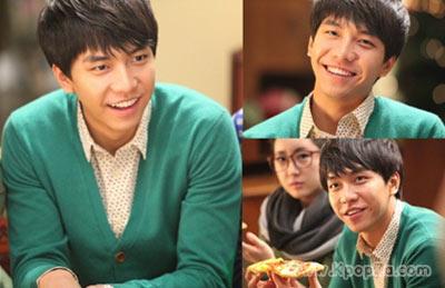 Lee Seung Gi ถ่ายโฆษณา Pizza Hut