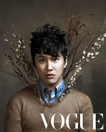 Cha Tae Hyun ถ่ายภาพกับเสือให้ Vogue ฉบับล่าสุด