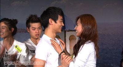 ฉากจูบ Minho (SHINee) และ Yuri (SNSD) !!!
