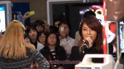 คลิปวีดีโอ Wonder Girls แสดงที่โรงพยาบาล Samsung Medical Center