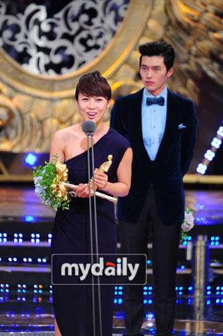 Go Hyun Jung คว้าแดซางในงาน Drama Awards ของสถานี SBS ปี 2010