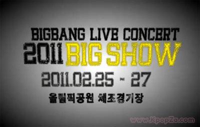 """ตัวอย่างความมันส์ของ Big Bang ในคอนเสิร์ตใหญ่ """"2011 BIG SHOW"""""""