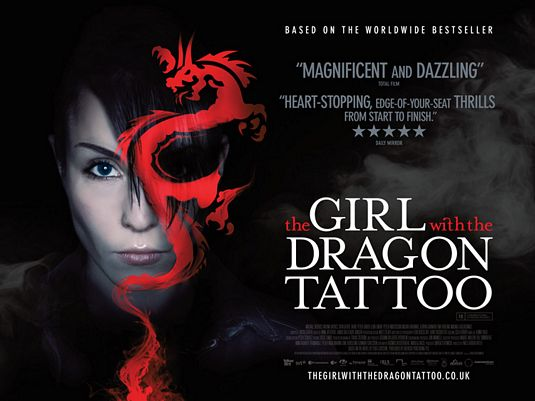 The Girl with the Dragon Tattoo - Sat 27 February at 11am in Savoy 1