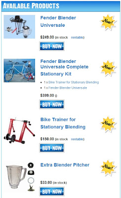 price list for fender blenders starting with a simple kit for $299