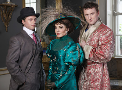 Rory Keenan as Jack, Stockard Channing as Lady Bracknell & Rory Nolan as Algernon in Rough Magic's production of Oscar Wilde's comedy 'The Importance of Being Earnest' at Gaiety Theatre June 2nd - 19th. Photo: Anthony Woods