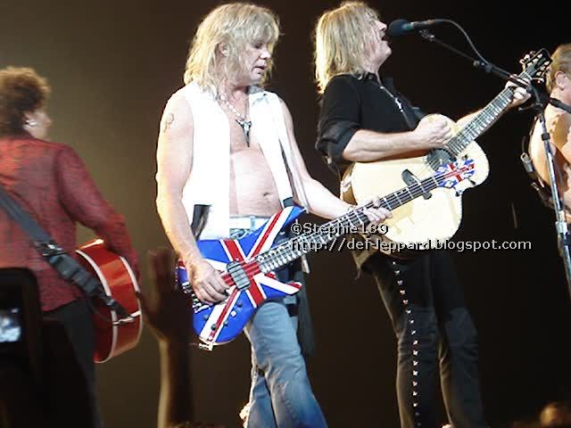 Viv, Sav, Joe and part of Phil - Def Leppard