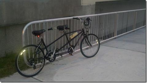 tandom bike