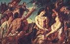 Jordaens, Meleagro y Atalanta