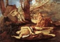Poussin, Eco y Narciso