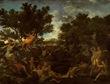 Poussin, Apolo y Dafne
