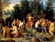 Jan van Balen, Apolo y las Musas
