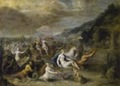 Frans II Francken, Neptuno y Anfítrite