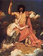 Ingres, Tetis implorando a Zeus