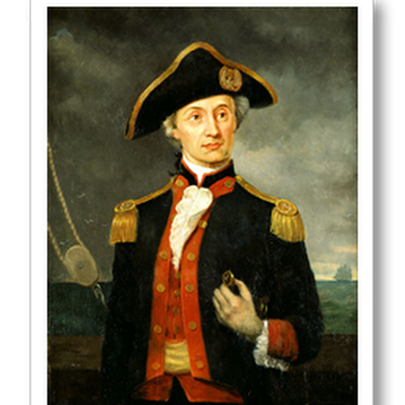 Two famous quotes launched by Captain John Paul Jones…