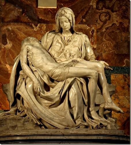 Pietá, de Michelangelo - 1498-1500