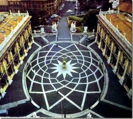 Piazza Campidoglio - Roma, Michelangelo