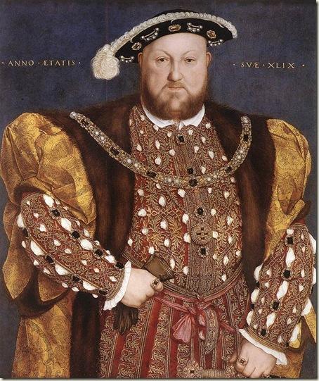 Henrique VIII, Hans Holbein, 1540