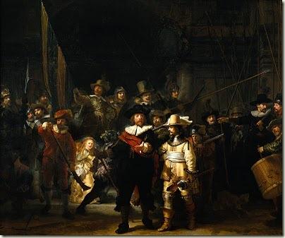 Troca da Guarda, Rembrandt