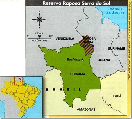 Reserva Raposa Serra do Sol.