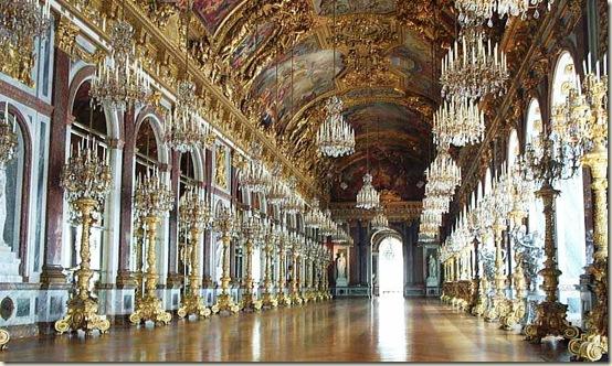 Galeria dos Espelhos, Palácio de Versalhes, França