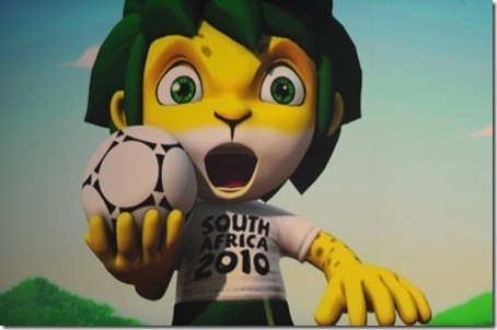Macote Copa Mundial de Futebol (2010)