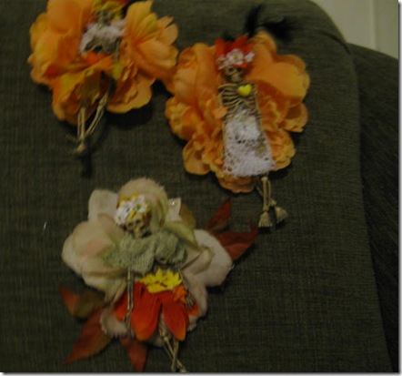 Catrina Halloween Corsages 010