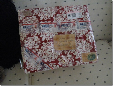 2009christmas  swap with Sarah 002
