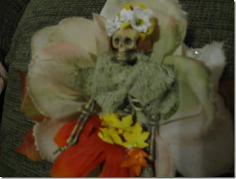 Catrina Halloween Corsages 006