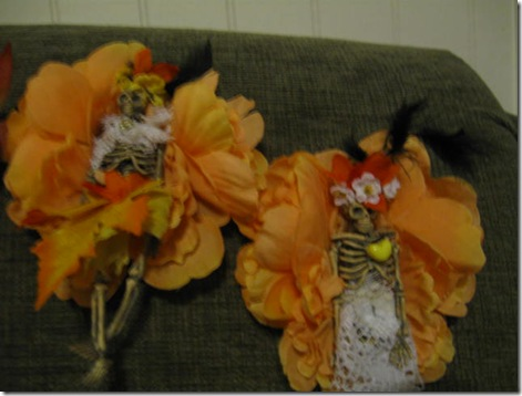 Catrina Halloween Corsages 009