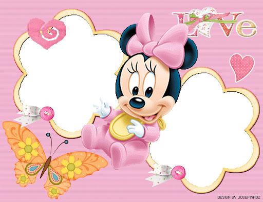 Fondos de bebé Minnie Mouse - Imagui