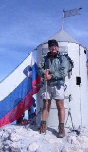 On the summit of Triglav