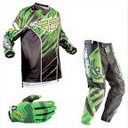 Motocross Jersey & Pant FLY Racing F16 Green