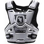 Motocross Protector Thor Sentinel White Black