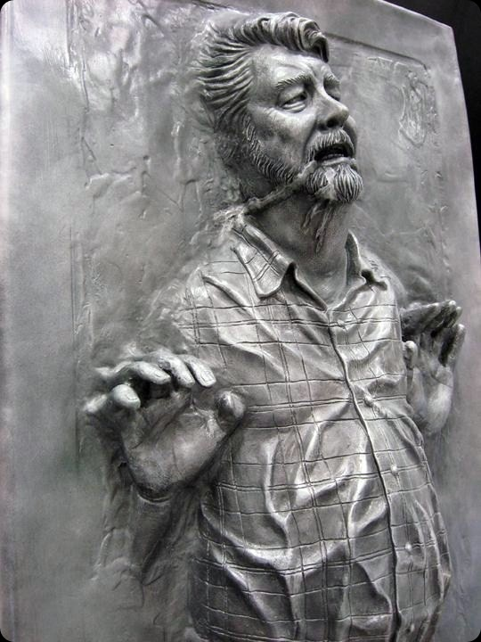 cool star wars photos george lucas in carbonite