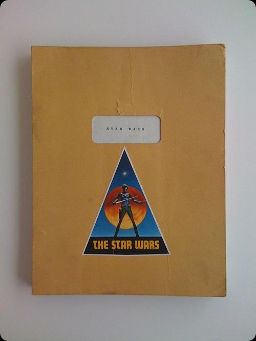 cool star wars photos draft script of original star wars
