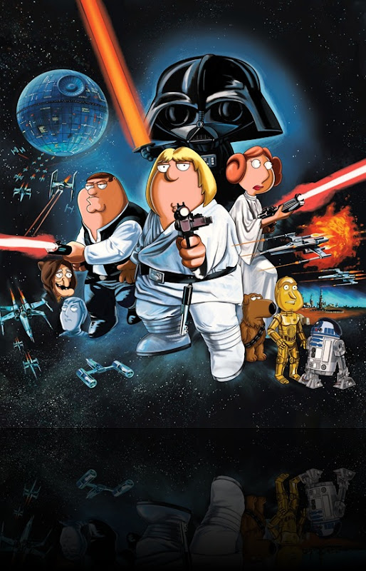 cool star wars photos blue harvest family guy