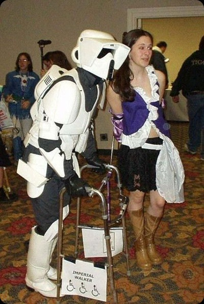cool star wars photos challenged scout trooper and girl