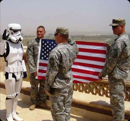 cool star wars photos stormtrooper and US army