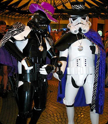 cool star wars photos pimping darth and stormtrooper friend